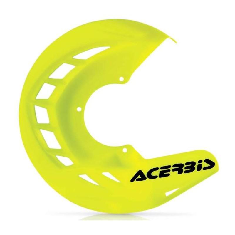 protector-disco-delantero-acerbis-x-brake-amarillo-fluor