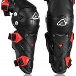 Acerbis-Impact-Evo-30-Knee-Guards-323-BlackRed-1