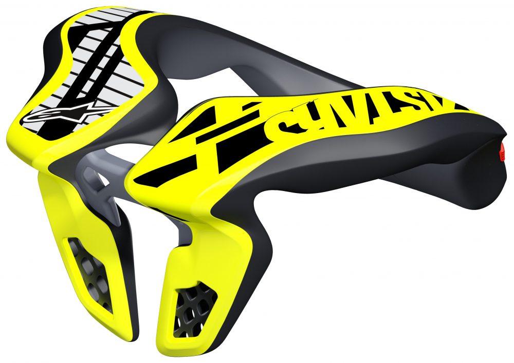 alpinestars_neck_support_youth_os_hi_viz_yellow