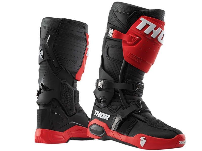 Botas-Thor-Radial-Rojo-Negro